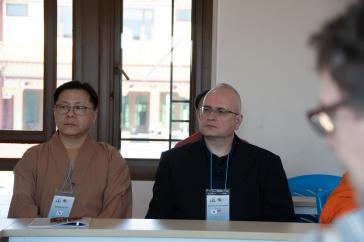 Master Beobkyung Kim and Dr Dominick Scarangello